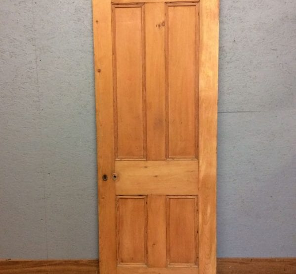 Glossed Stripped 4 Panelled Door