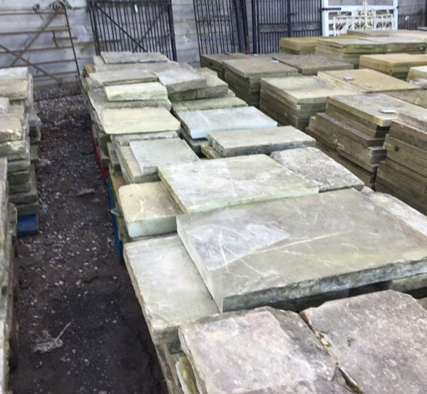 Reclaimed Assorted York Stone Batch