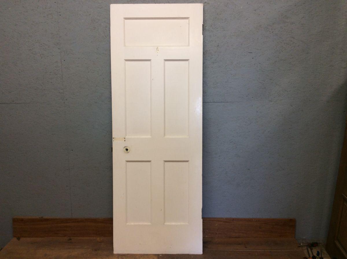 White 5 Panelled Door