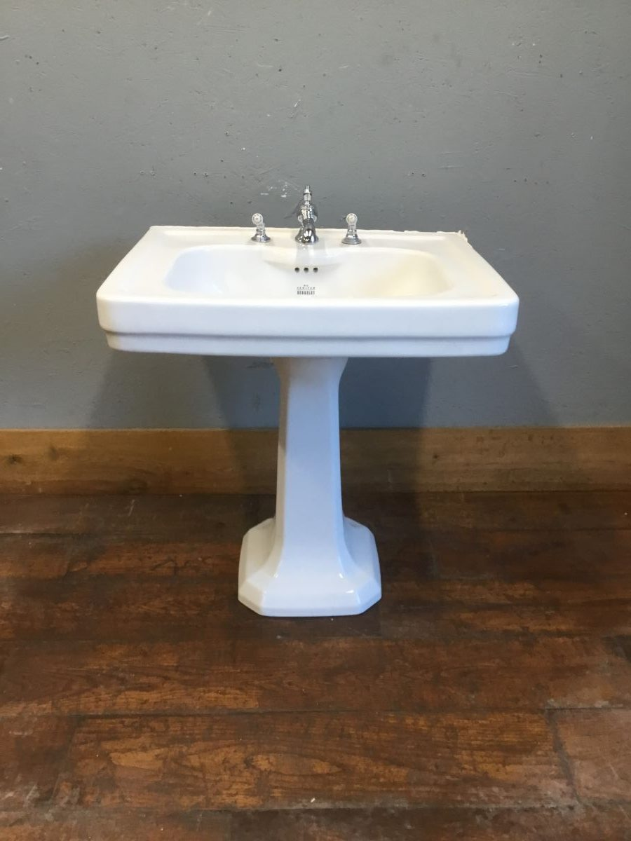 B C Sanitan Berkeley Sink & Pedestal