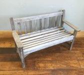 R A Lister Teak Garden Bench