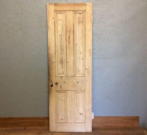 Stripped Slim 4 Panelled Door