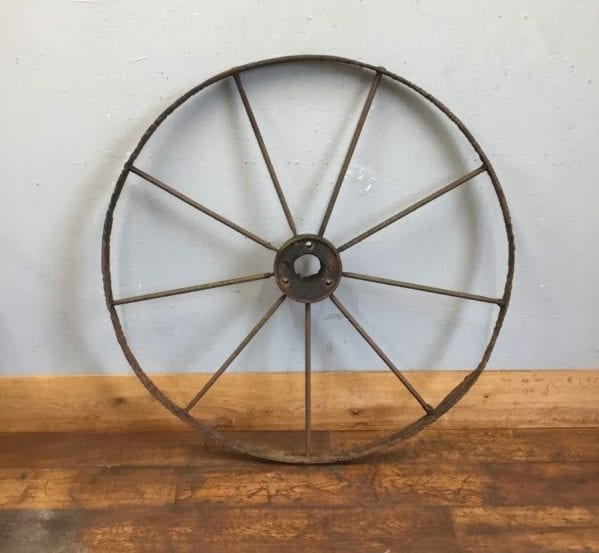 Large Iron Wheel