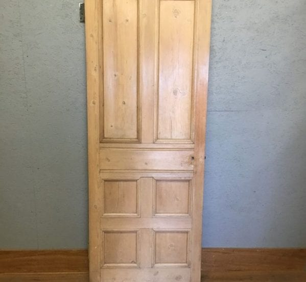 2 Over 4 Stripped Pine Door