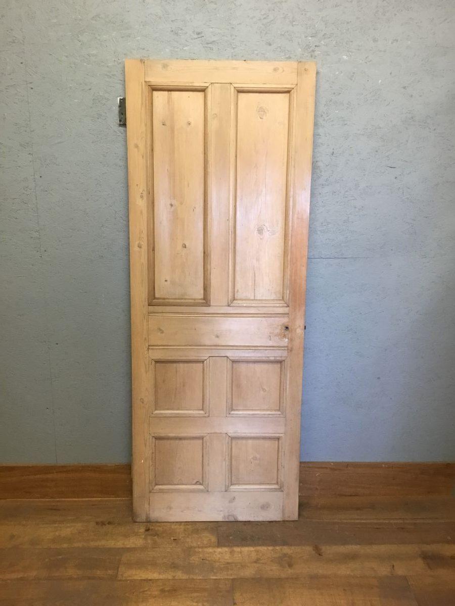 2 Over 4 Stripped Pine Door
