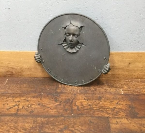 Round Clown Water Feature Plaque