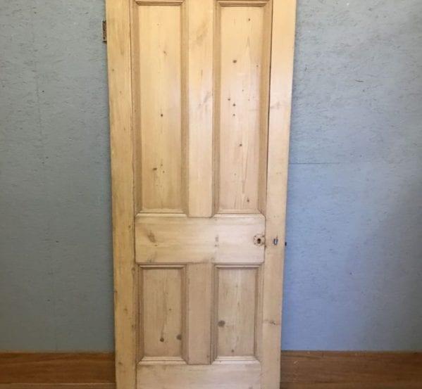 Solid Beaded 4 Panel Pine Door