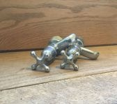 Chrome Plated Tap Pair