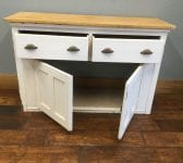 White Painted Kitchen Sideboard