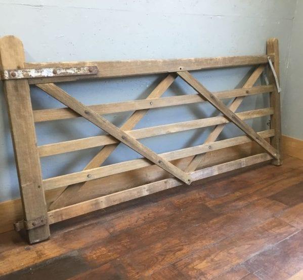 Five Bar Wooden Gate