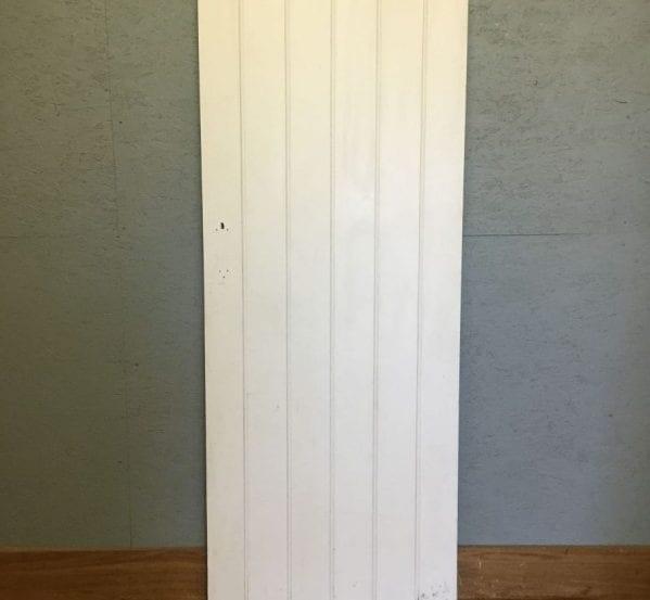 Simple Painted Ledge & Brace Door