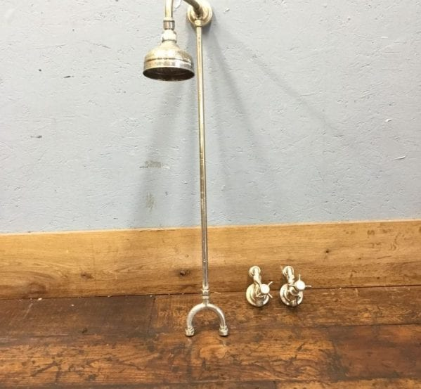 Reclaimed Antique Shower Head & Taps
