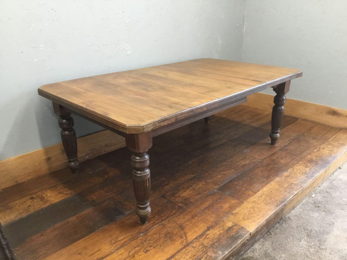 Reclaimed Oak Dinner Table