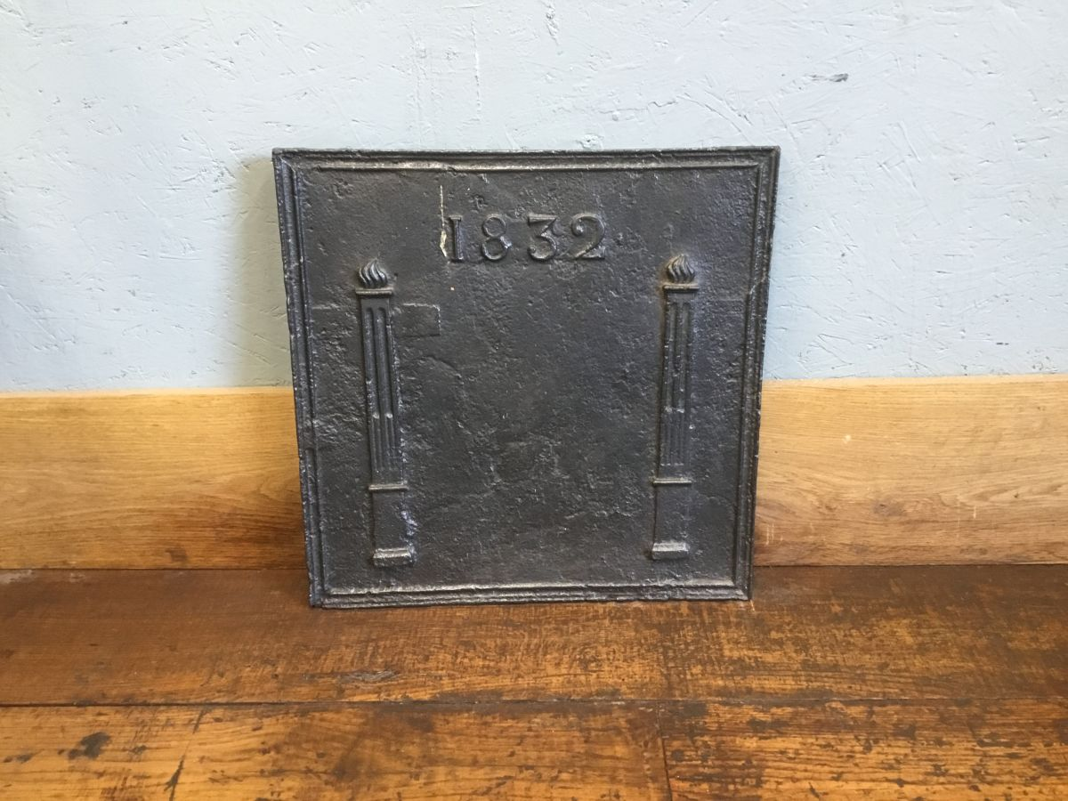Cast Iron Fire Back 1832