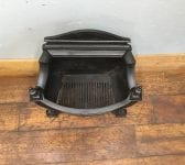 All Black Regency Style Fire Basket
