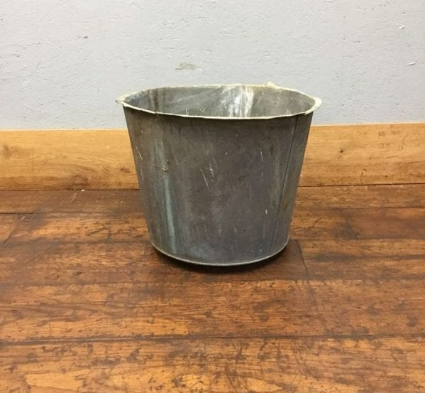 Reclaimed Large Galvanised Bucket