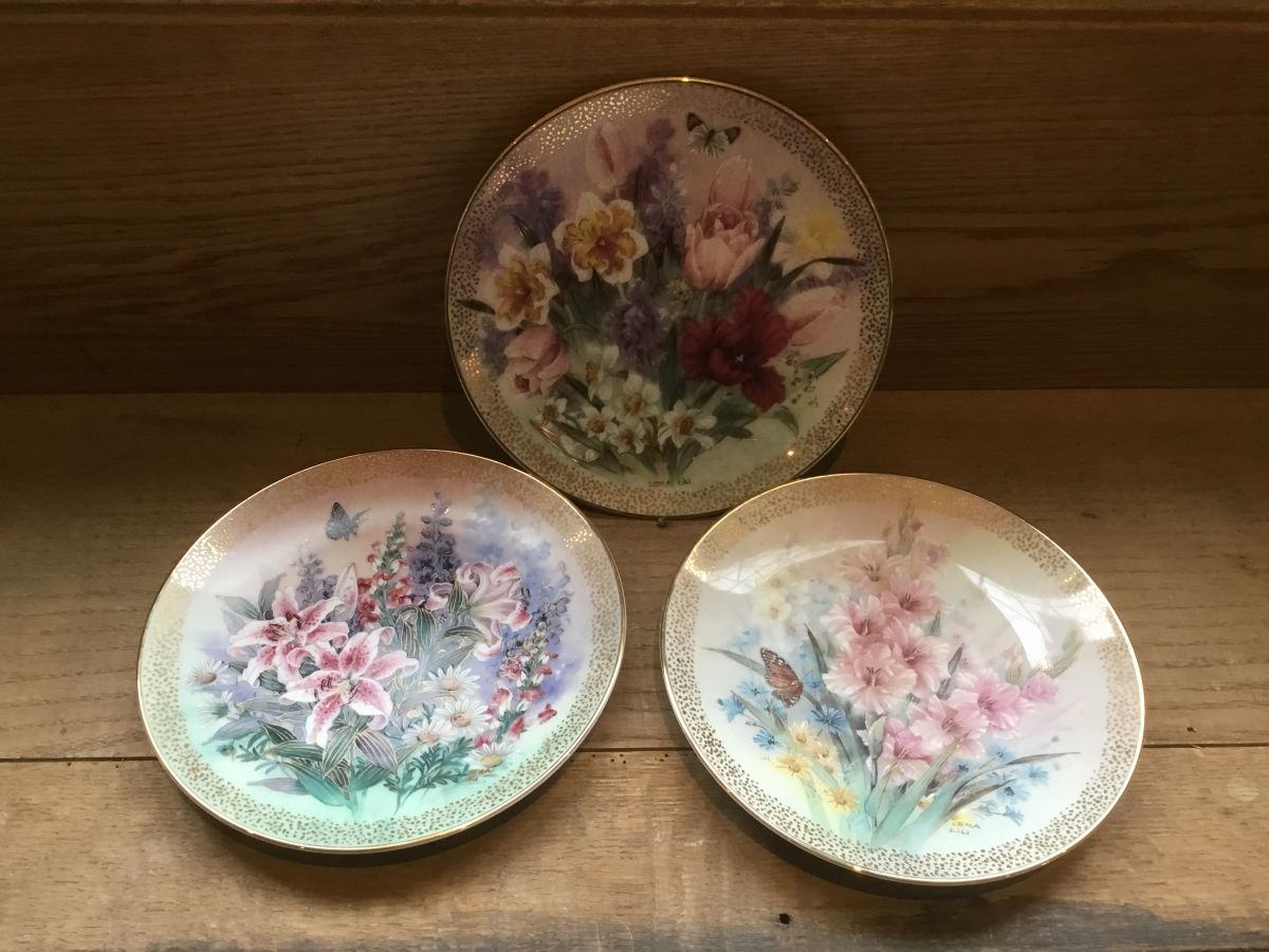 Symphony of Shimmering Beauty Plates