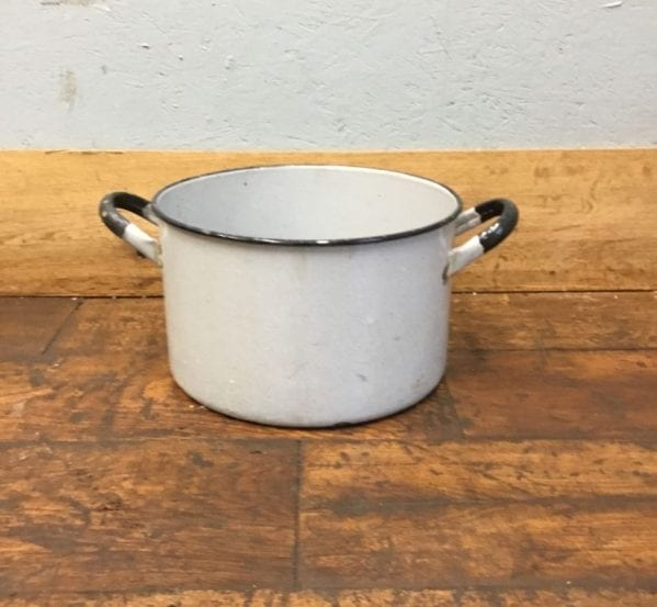 Reclaimed Cooking Pot