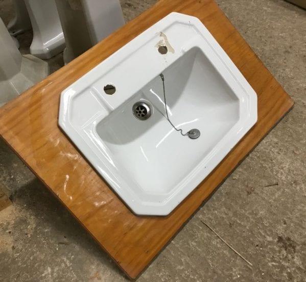 Reclaimed Wooden Trimmed Sink