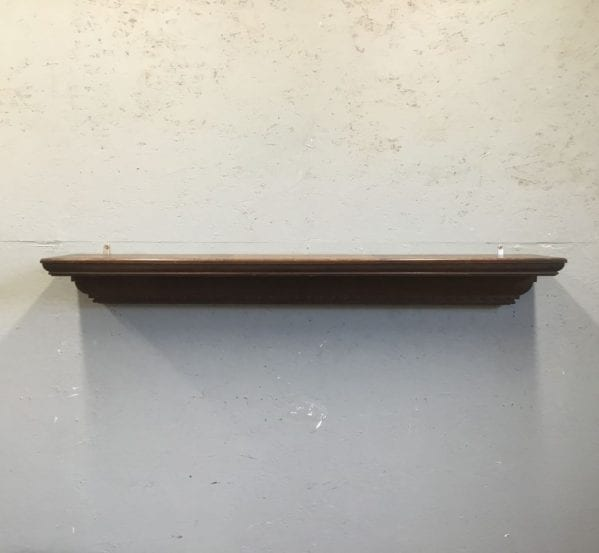 Carved Oak Mantle Piece
