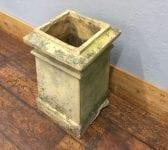 Reclaimed Square Buffed ChImney Pot