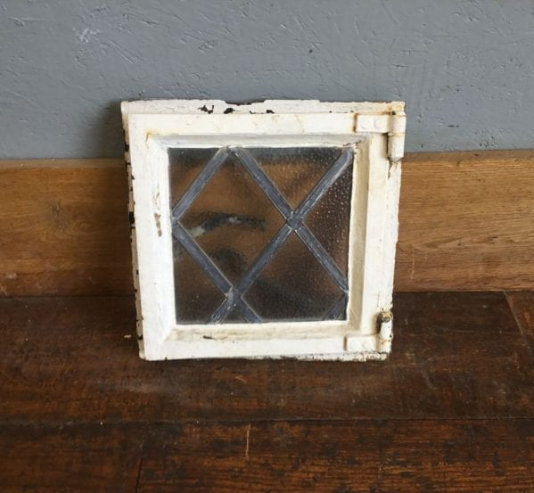 Mini Iron Wrought Window