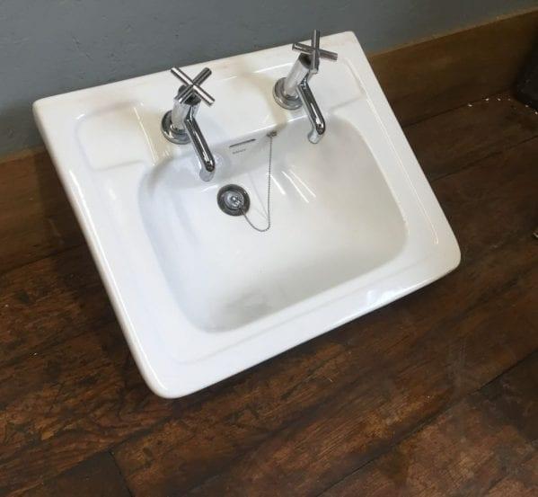 White Savoy Sink & Taps
