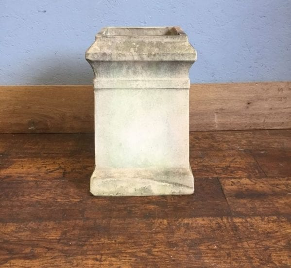 Buff Square Base Chimney Pot