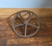 Cast Iron Wheel & Bolt