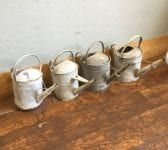 Galvanised Tin Watering Cans