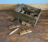 Box of Various Carpentry Tools
