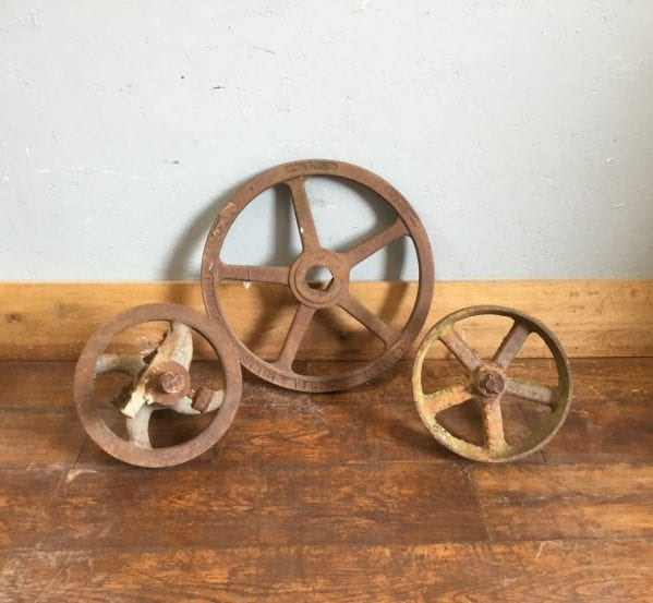 Cast Iron Wheel Selection