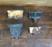 Rectangular Cast Iron Rain Hoppers