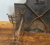 1859 Knotted Rope Candle Holder