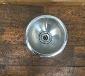 Round Metal Basin