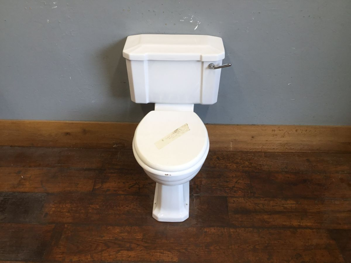 Coupled Toilet & Cistern