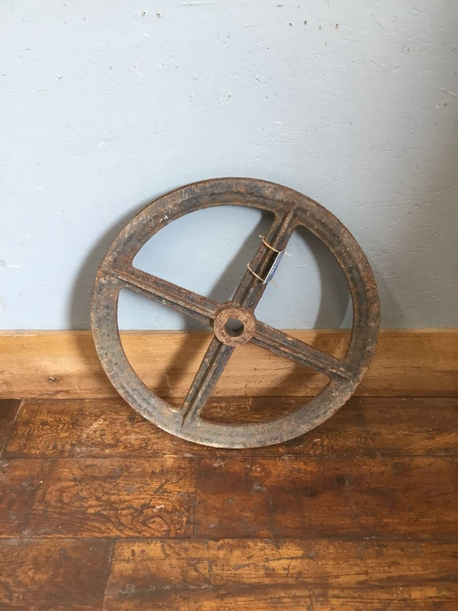 Solid Cast Iron Wheel