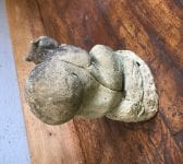 Reclaimed Squirrel Pair Statue