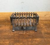 Curled Cast Iron Fire Basket & Ash Tray