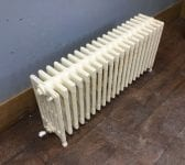 Reclaimed Painted 6 Bar Radiator