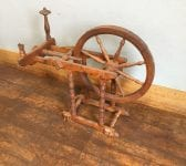 Reclaimed Antique Spinning Wheel