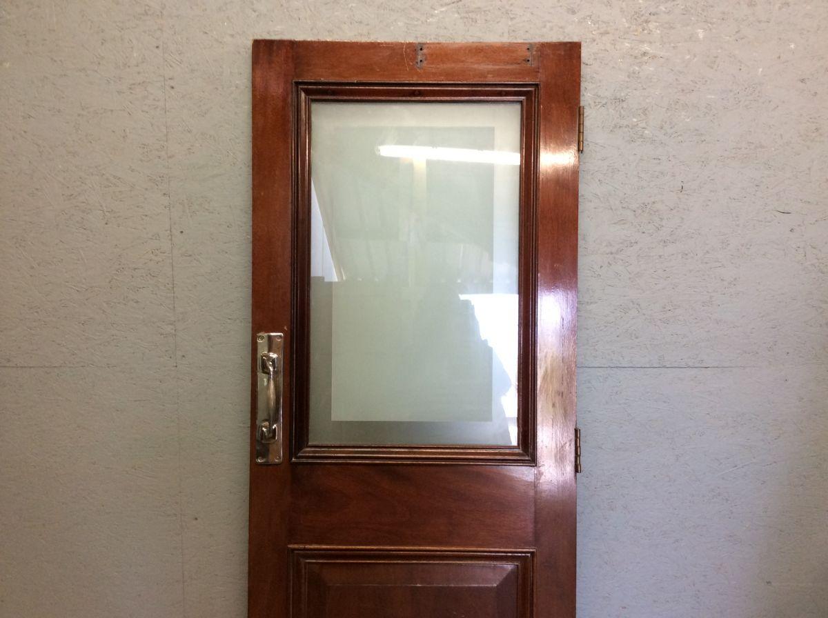 Ladies Oak Half Glazed 2 Panelled Door
