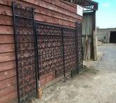 Clover Pattern Iron Railing Panels