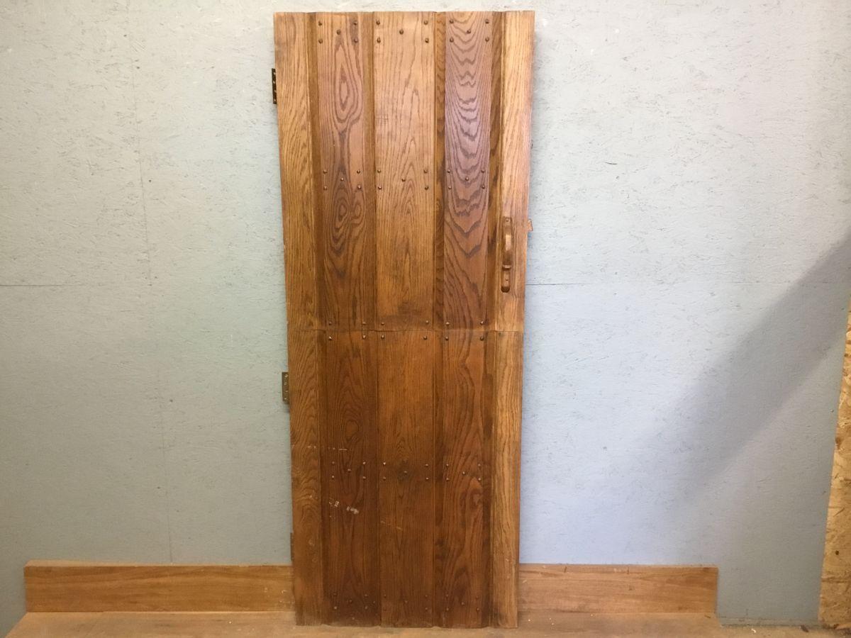 Recaimed Oak Stable Ledge & Brace Door