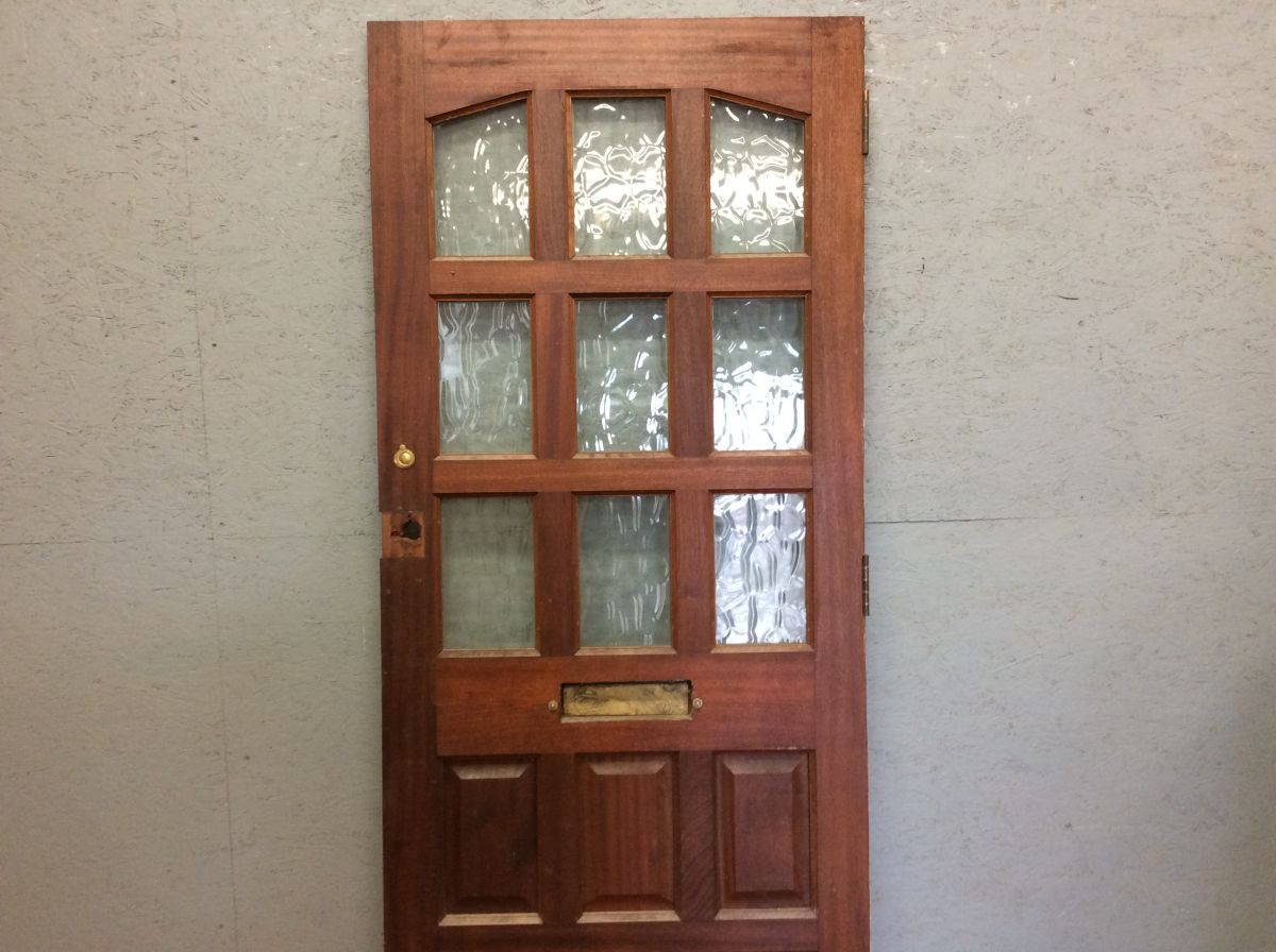 Heavy Hardwood Front Door