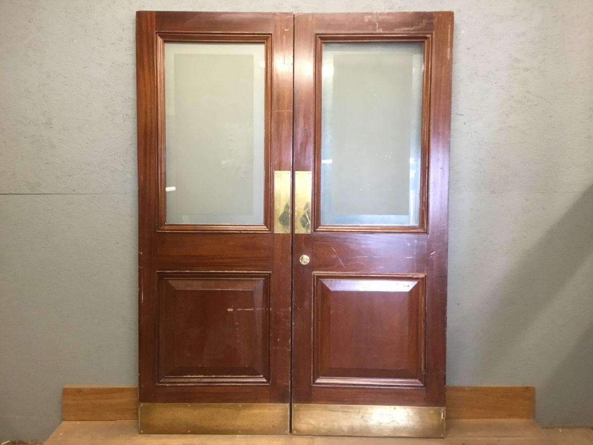 Auction House Oak Double Doors