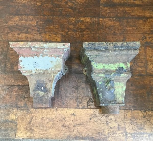 Cast Iron Rectangular Rain Hoppers