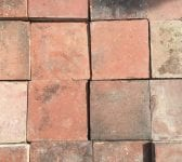 "8 3/4"" Square French Floor Tiles"