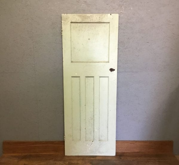 Reclaimed Light Green Painteed 1 Over 3 Door