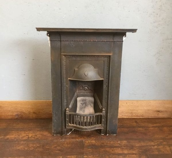 Metal Bedroom Fireplace